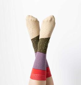 KIMBERLY WAHLBERG COMPANY Socks Burrito