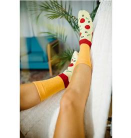 KIMBERLY WAHLBERG COMPANY Socks Pizza
