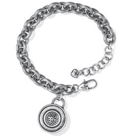BRIGHTON Ferrara Disc Bracelet-Silver