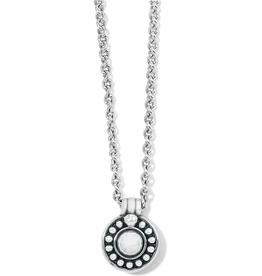 BRIGHTON Pretty Tough Stud Necklace-Silver