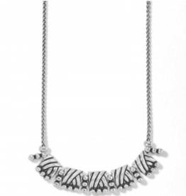 BRIGHTON Sonora Tile Necklace-Silver