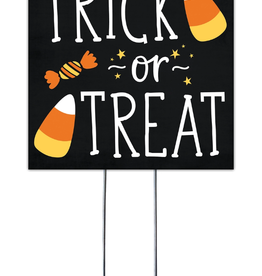 MY WORD - WAXCESSORIES - QSL Trick or Treat w/Candy Corn Stand Out Square 8X8