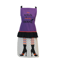 The Witch Is In The House Apron