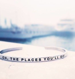 MANTRABAND OH THE PLACES YOU'LL GO SILVER