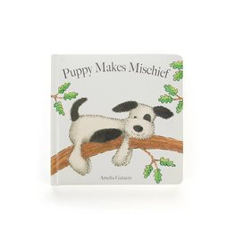 JELLYCAT INC. Book Puppy Makes Mischief