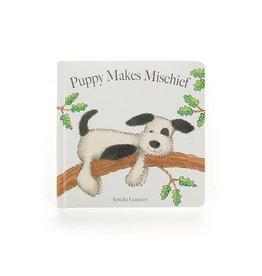 JELLYCAT INC. Book Puppy Makes Mischief