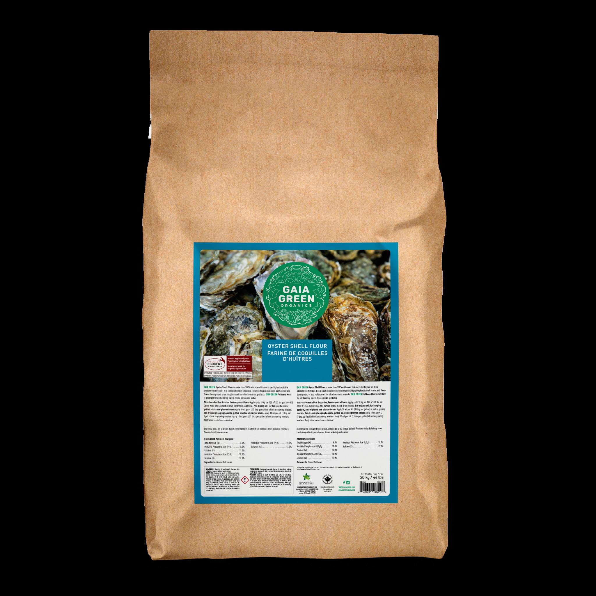 Gaia Green Oyster Shell Flour
