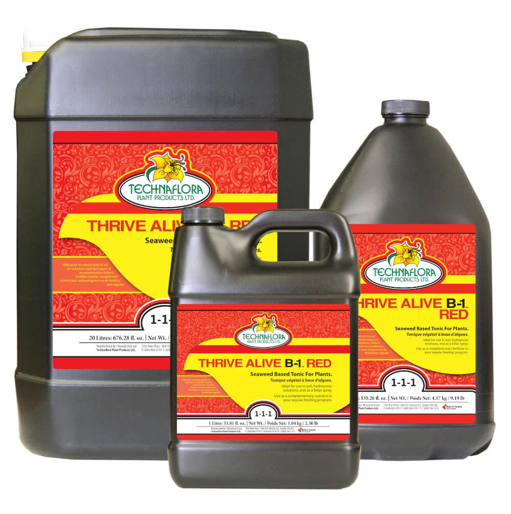 TechnaFlora TechnaFlora - Thrive Alive B-1 Red