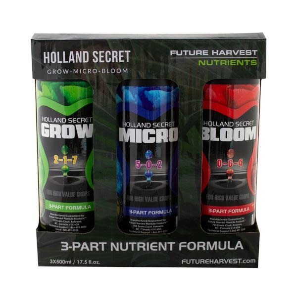 Future Harvest Future Harvest - Holland Secret Tri-Pack (3 x 500mL)