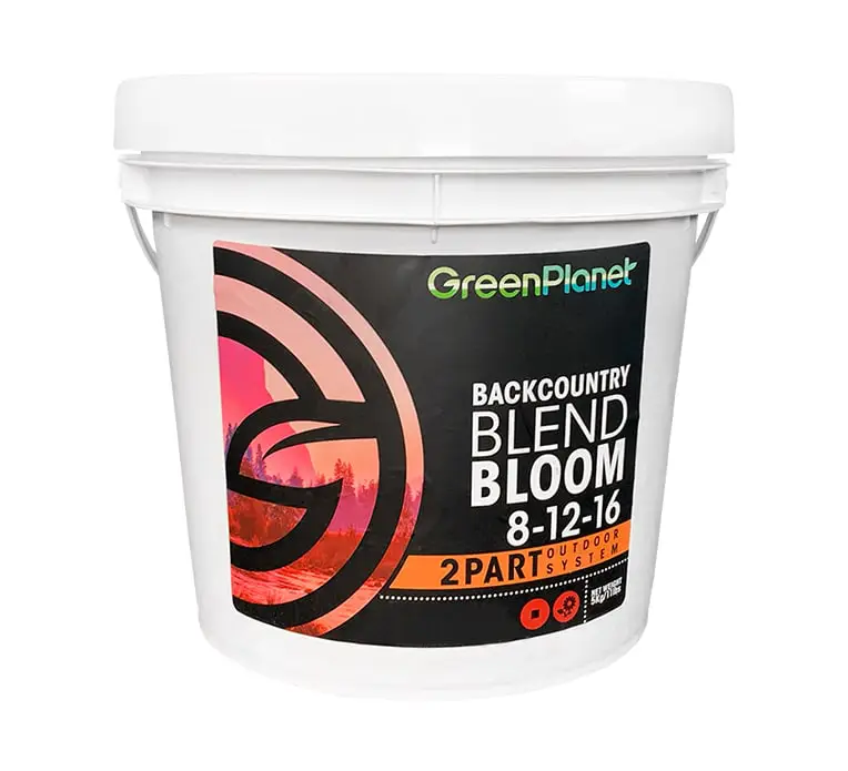Green Planet Nutrients Green Planet Nutrients - Backcountry Blend Bloom