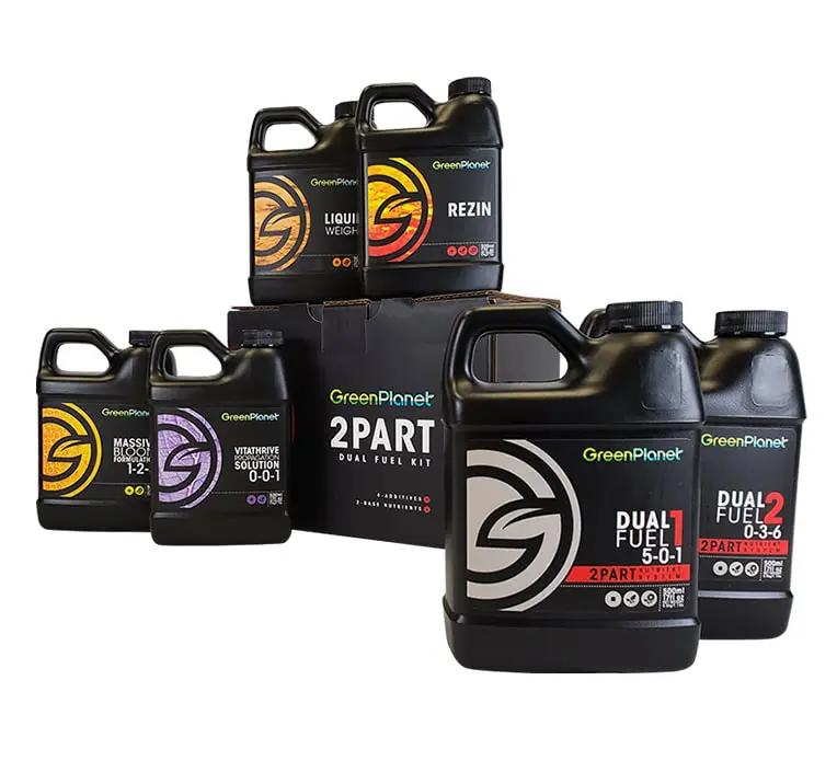 Green Planet Nutrients Green Planet Nutrients - Dual Fuel - 2 Part Kit