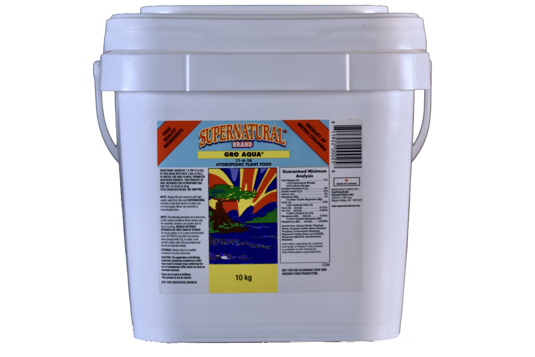 Supernatural Brand Supernatural Brand - Gro Aqua