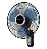 "Hurricane Hurricane - Super 8 Oscillating Digital Wall Mount Fan 16"""