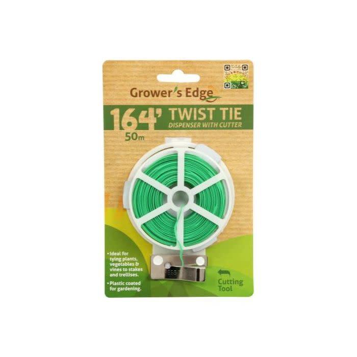 Grow1 Grower's Edge - Twist Tie w/Cutter