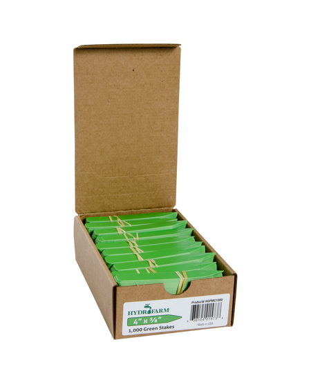 """4"""" x 5/8"""" Assorted Colour Plant Tags (100 Pack)"""