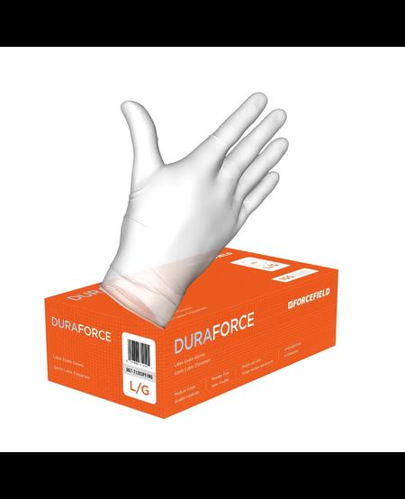 White Latex Exam Gloves