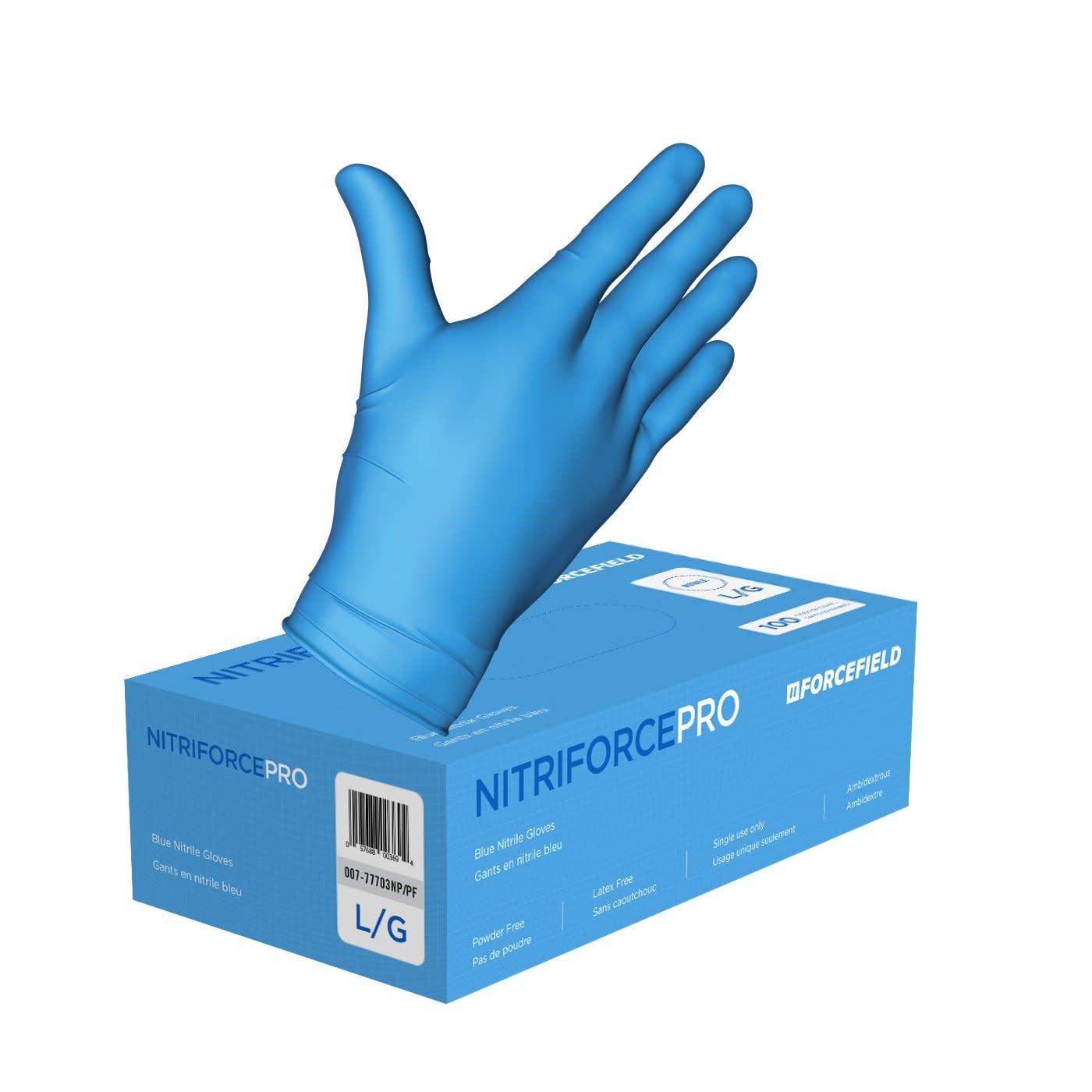 Nitriforce Pro Nitriforce - Blue Nitrile Gloves