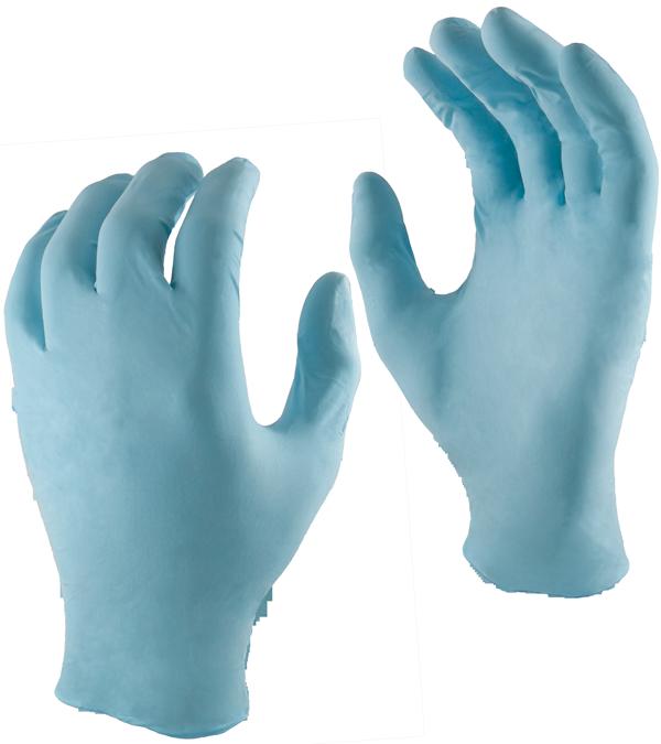 360 Total Coverage 360 Total Coverage - Blue Nitrile Gloves