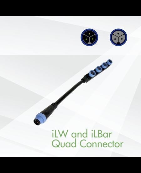 LED iLW and iLBar Series Quad Connector