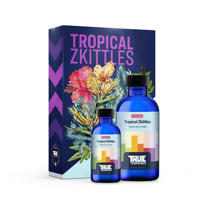 True Terpenes True Terpenes - Tropical Zkittles