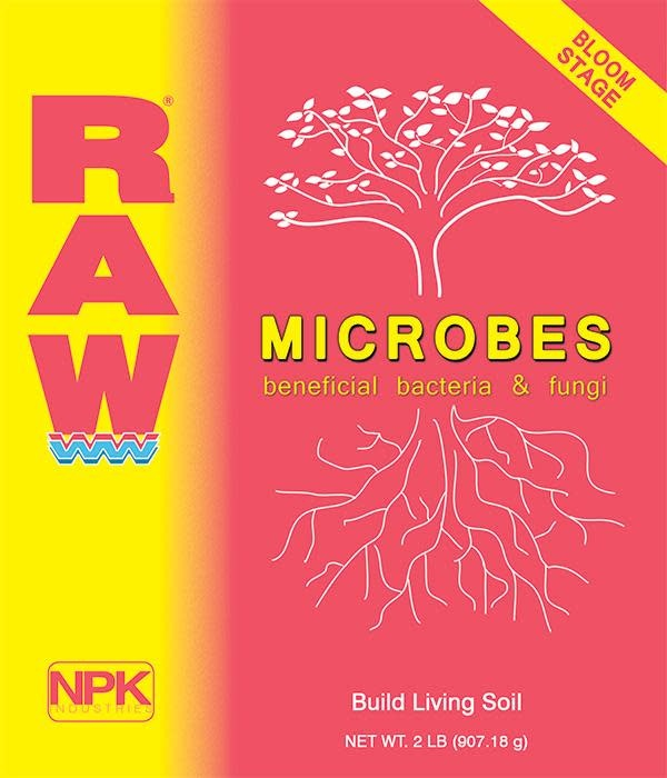 Raw - Bloom Stage Microbes