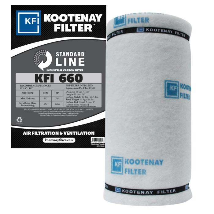 Kootenay Filter Inc KFI - Standard Line Filter