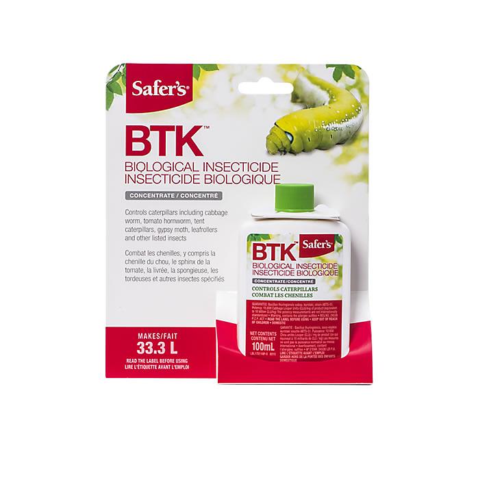 Safer's Safer's - BTK Biological Insecticide Concentrate 100mL