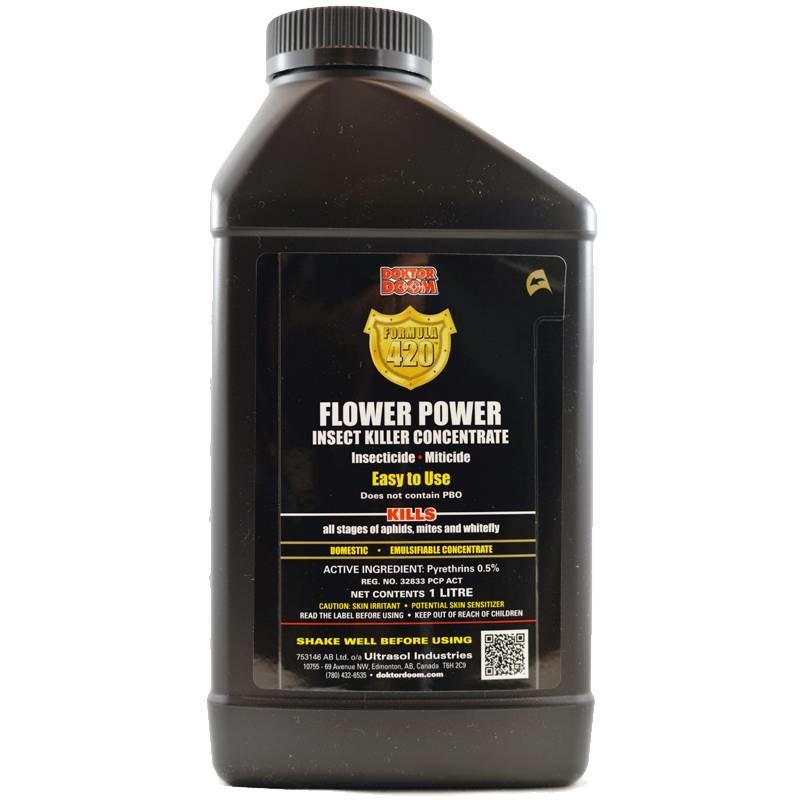 Doktor Doom Doktor Doom - Formula 420 Flower Power 1 Liter Concentrate