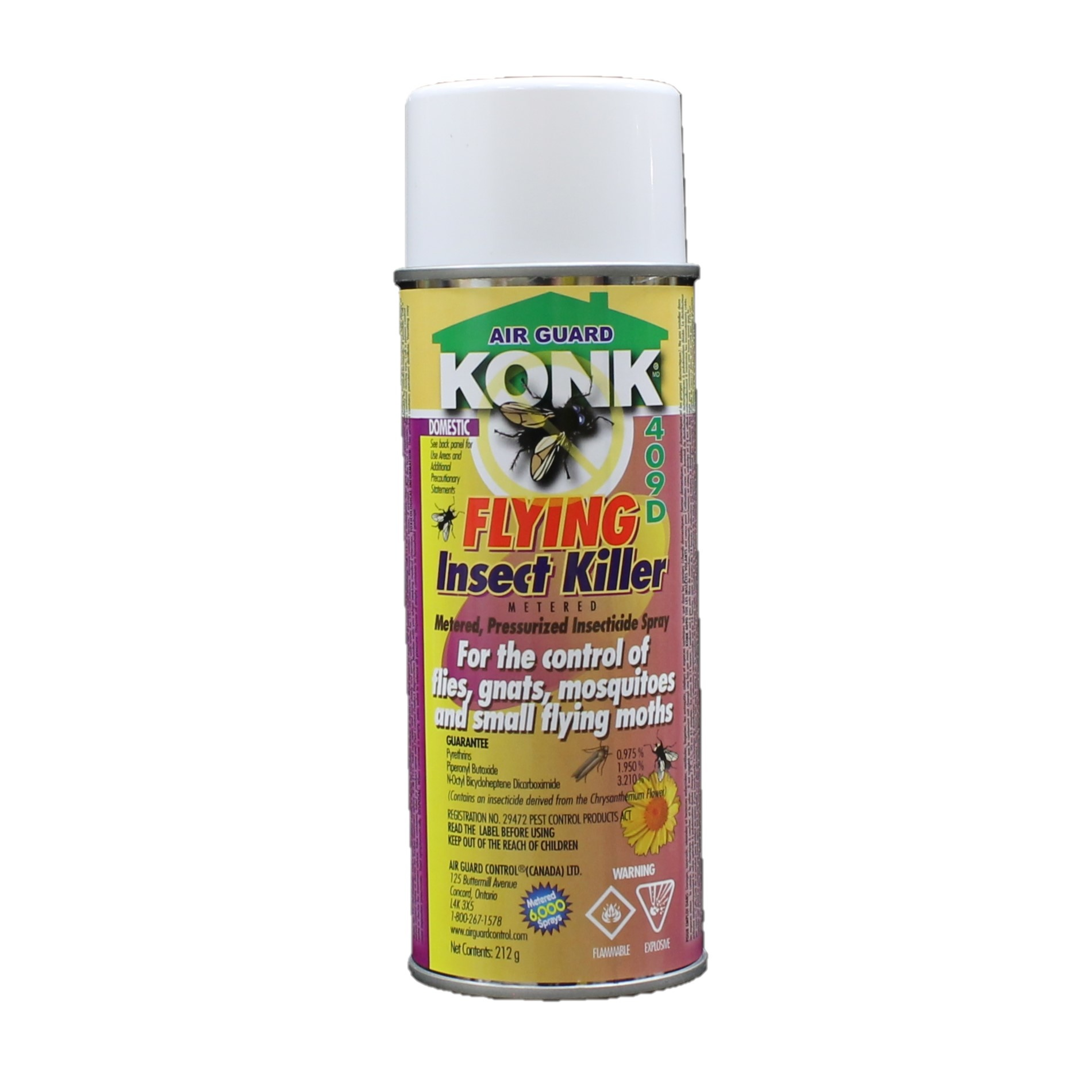 Konk Konk - 409D Flying Insect Killer 212g