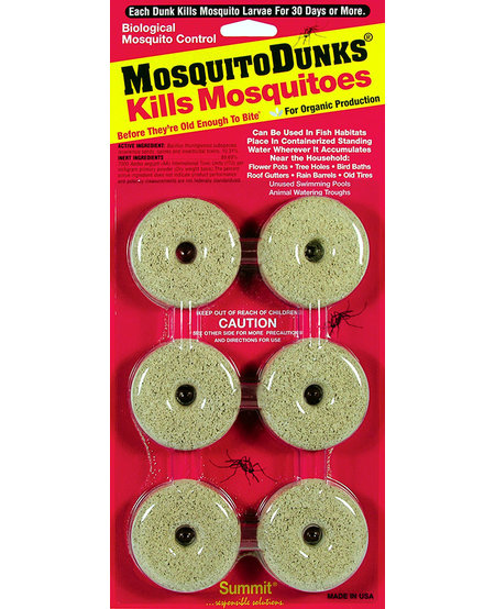 Mosquito Dunks (6 Pack)