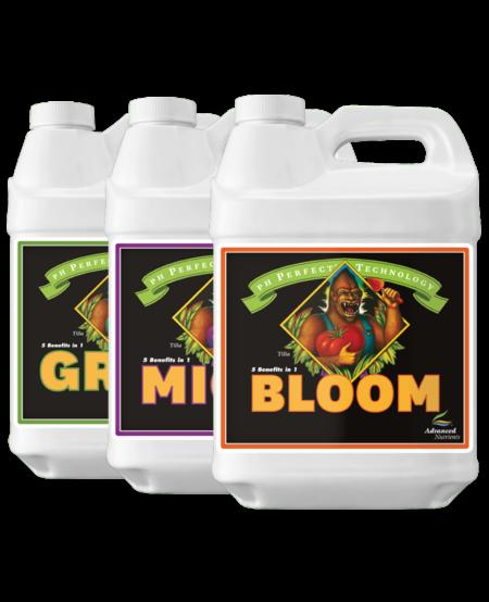 pH Perfect Grow, Micro & Bloom