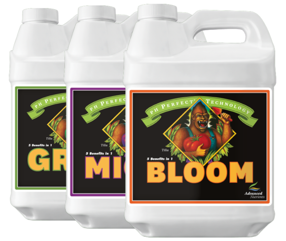 Advanced Nutrients pH Perfect Grow, Micro & Bloom