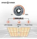 Spider Farmer Spider Farmer - SF4000 LED Grow Light With Dimmer Knob 2021 New Version QB