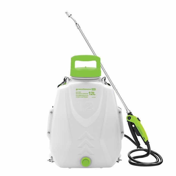 Greenhouse PRO - Battery Backpack Sprayer & Replacement Parts