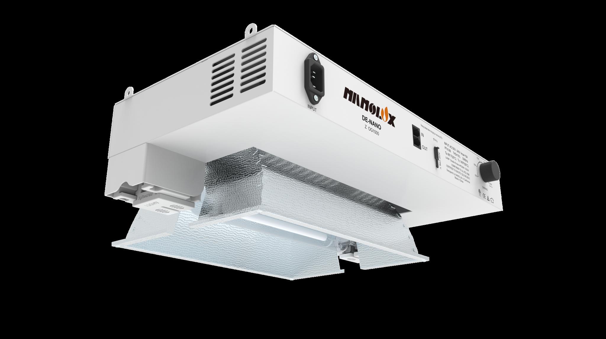 Nanolux Nanolux - Summit Series 1000w 120-240v DE OG  DE HPS/MH/CMH  (Includes HPS Bulb)
