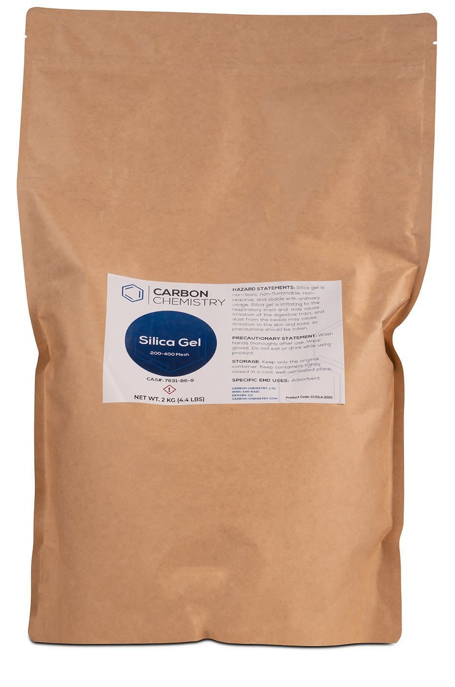 Carbon Chemistry Carbon Chemistry - Silica Gel (Silica 60A, 200-400 Mesh)
