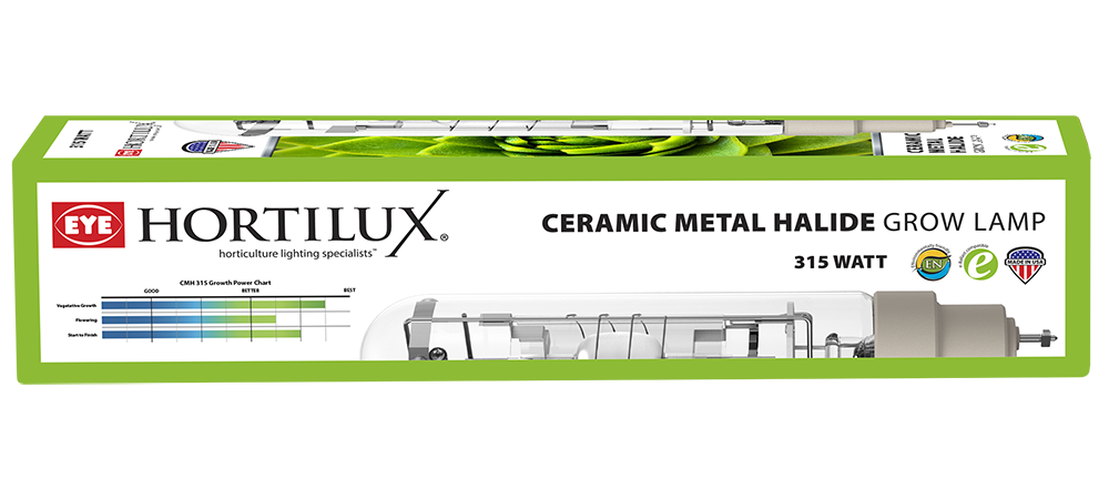 EYE Hortilux Hortilux - 315w Ceramic Metal Halide Bulb (CMH315/BU/HTL/O)