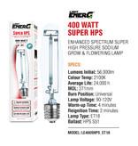 Light EnerG Light EnerG - ET25/T15/ET18  Super HPS Lamp