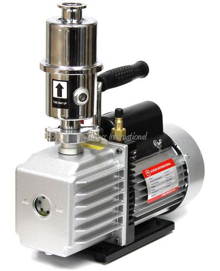 EasyVac Vacuum Pumps with Oil Mist Filter ETL/CE certified