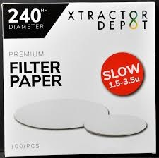 Generic Ashless Filter Papers - 240MM - Qualitative