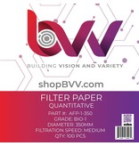 Generic Ashless Filter Papers - 350MM - Qualitative