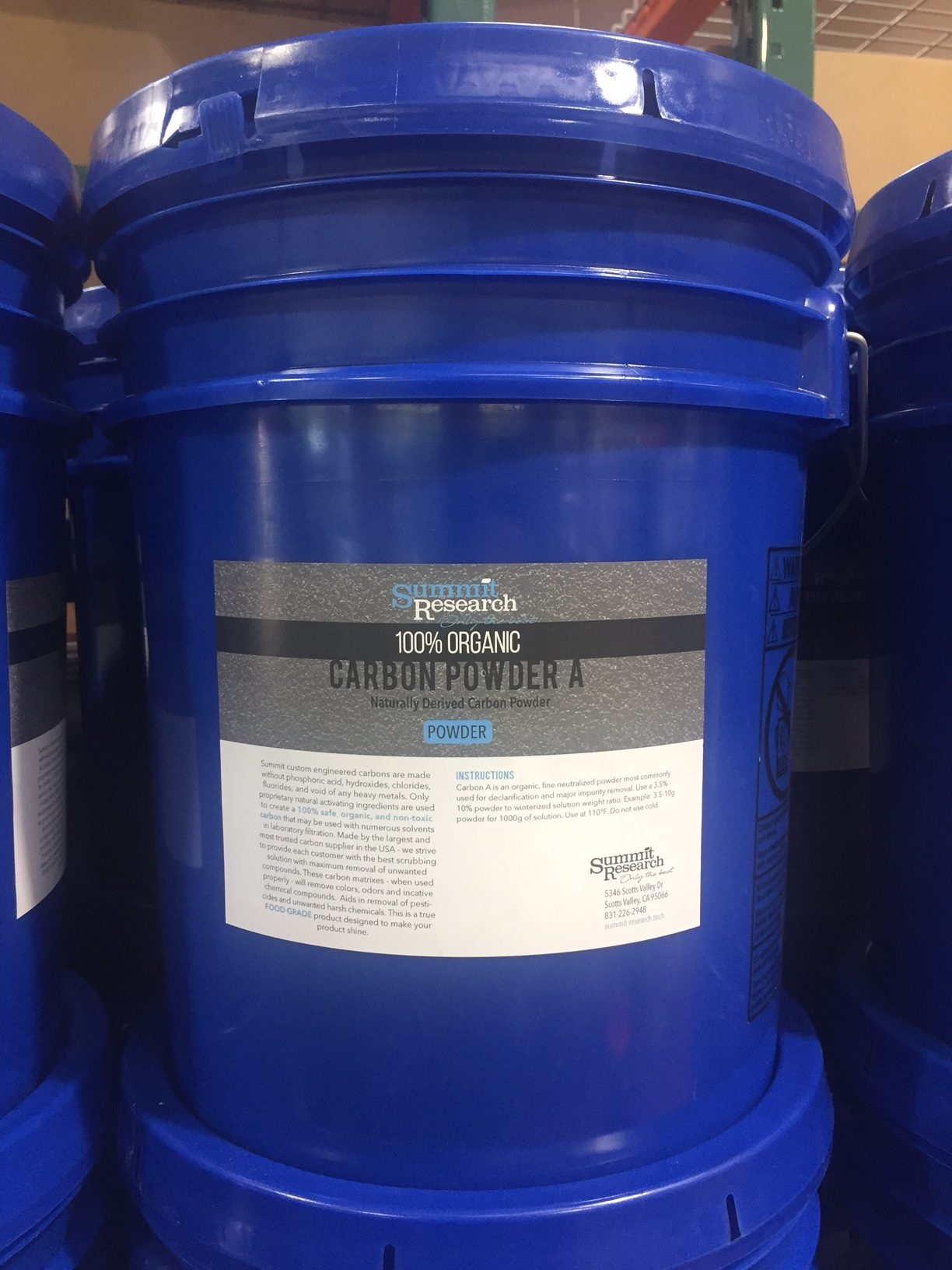 Summit Research - Carbon A Powder 5.4kg (12lb)