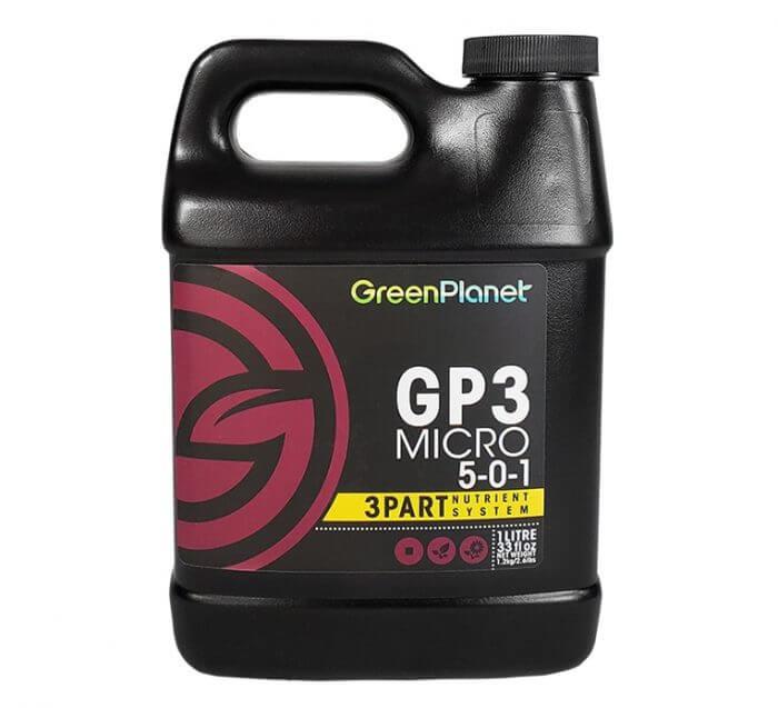 Green Planet Nutrients Green Planet Nutrients - GP3 Grow, Micro, and Bloom