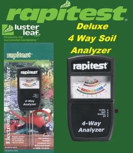 Luster Leaf Luster Leaf - Rapitest 4-Way Analyzer (#1880)