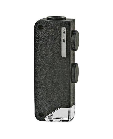 LED Pocket Microscope 60X-100X
