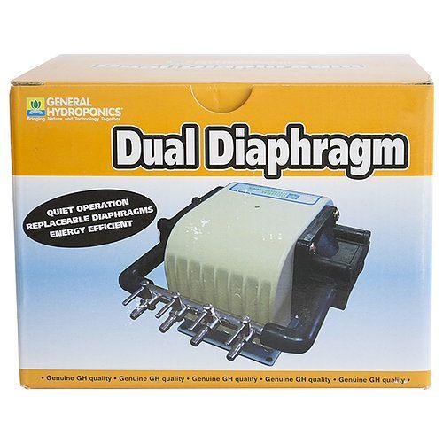General Hydroponics General Hydroponics - Air Pump Dual Diaphragm