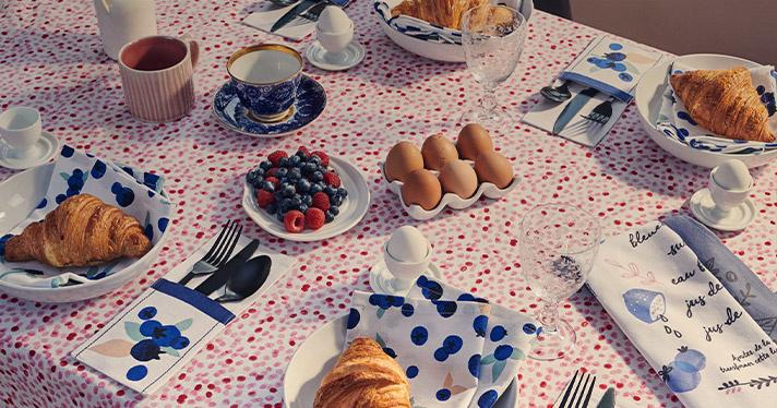 Invitez la fraîcheur à table!
