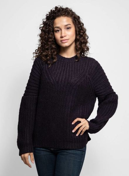 Ulla Johnson Kitty Pullover Eggplant