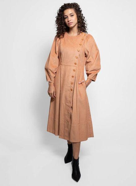 Ulla Johnson Rowan Coat Dress Camel