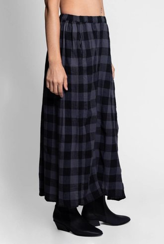 Bsbee Laurel Skirt Big Check